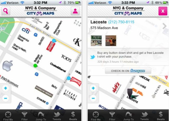 NYC Launches a Better Map App for Tourists Visiting nyc