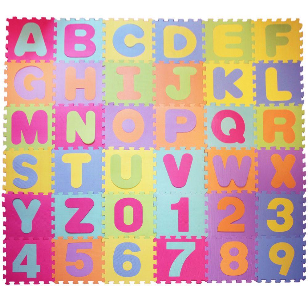 30x30cm Large Foam Eva Floor Mat Jigsaw Tiles Alphabet Numbers Kids Child Puzzle Alphabet And Numbers Eva Floor Alphabet For Kids