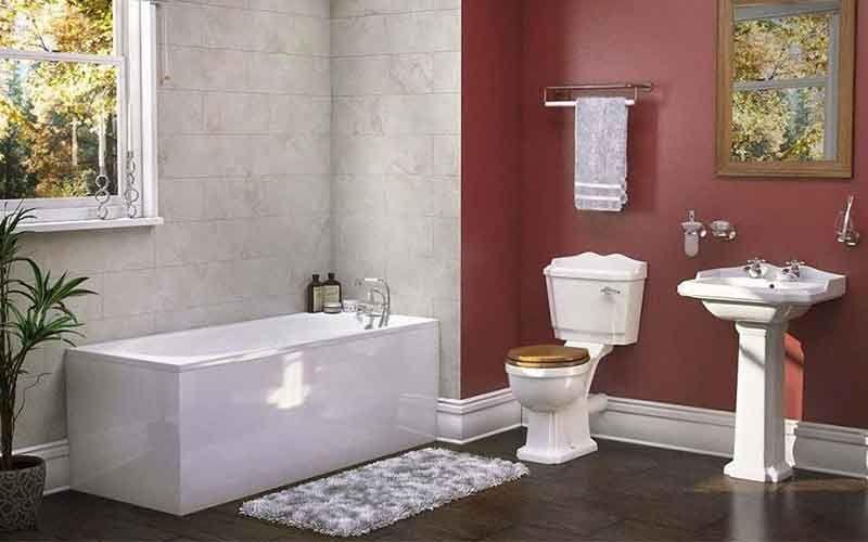Traditional Victorian 3 Piece Bathroom Suite Bathroom Suite Victorian Bathroom Bathroom Top