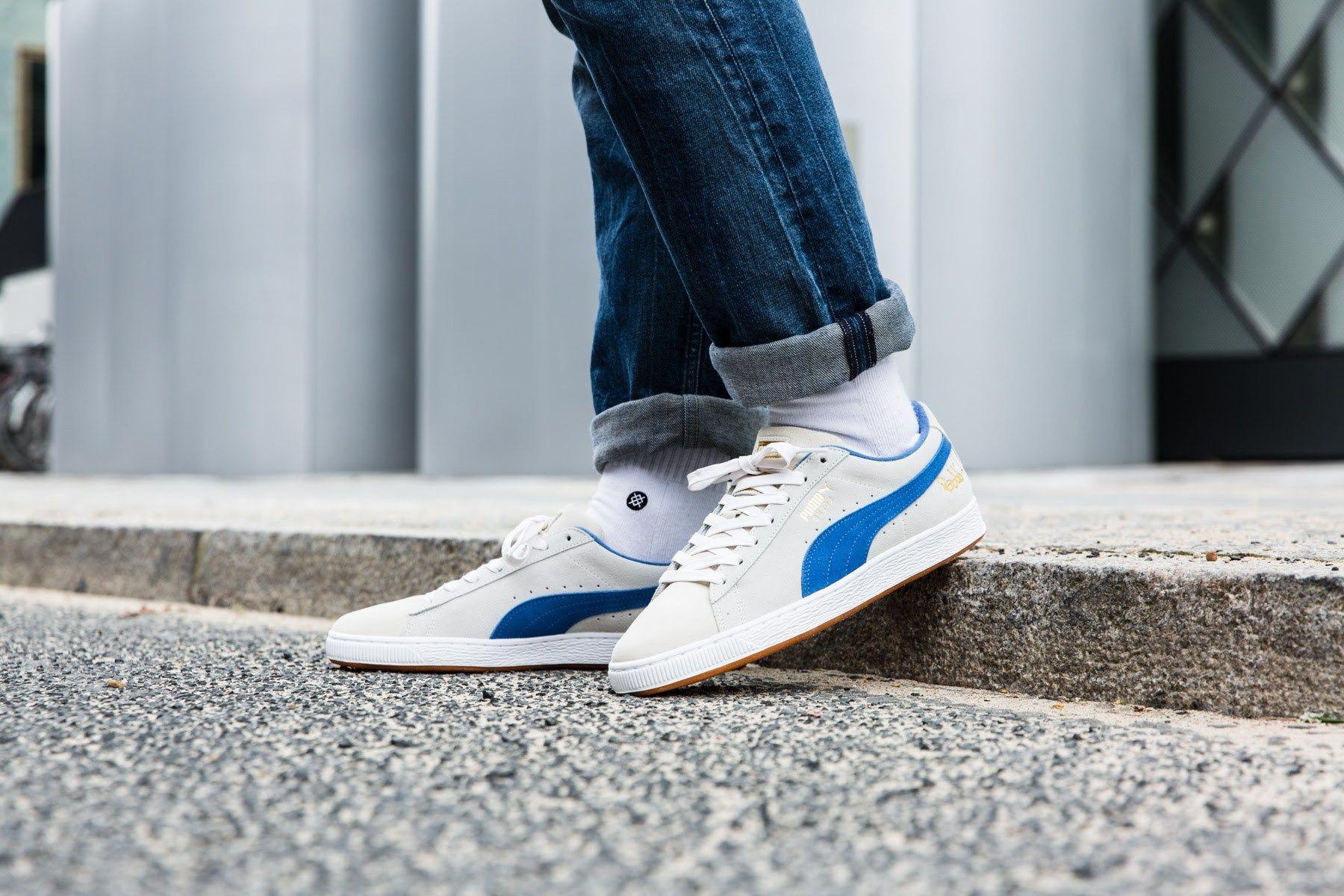 Puma Suede Classic x Bobbito shoes grey