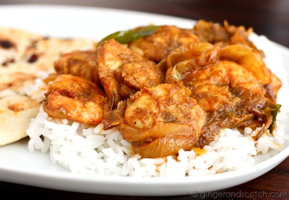 Shrimp Fried With Spices
