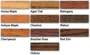 Gel Stain Color Guide Minwax Wood Stain Colors Minwax Staining Wood Minwax Gel Stain