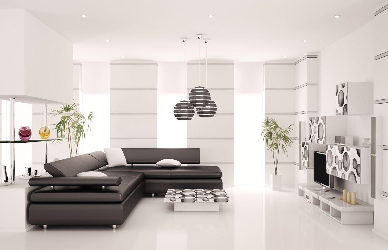 Juego de living comedor moderno interiores de casas for Living modernos