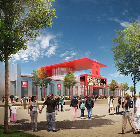 Rutgers athletic center Michael Graves Architects
