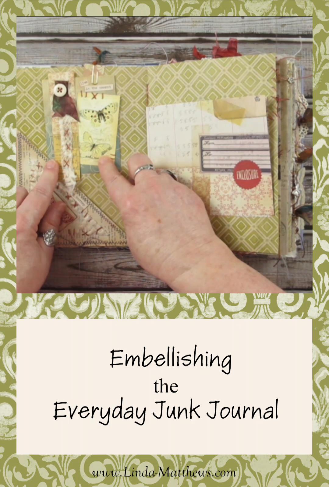 Junk Journal Embellishing