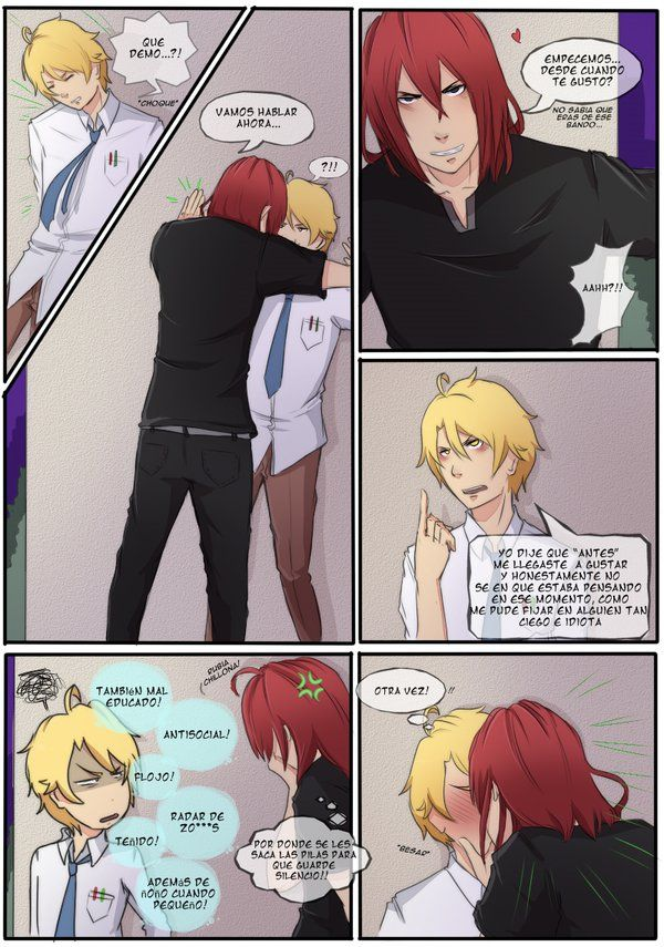Fan Comic Castiel X Nathaniel Pag 23 By Tsukiyagami On