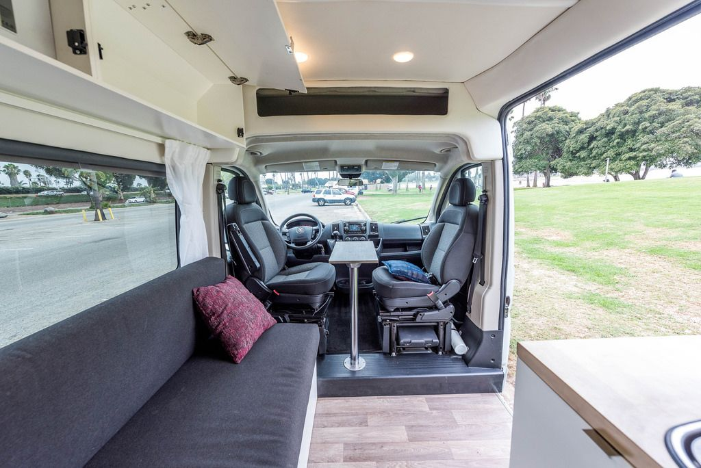 Off Grid Loaded Promaster Conversion For Sale Ram Promaster