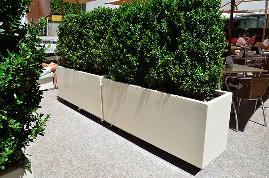 Deepstream Designs Movable Garden Planters On Casters