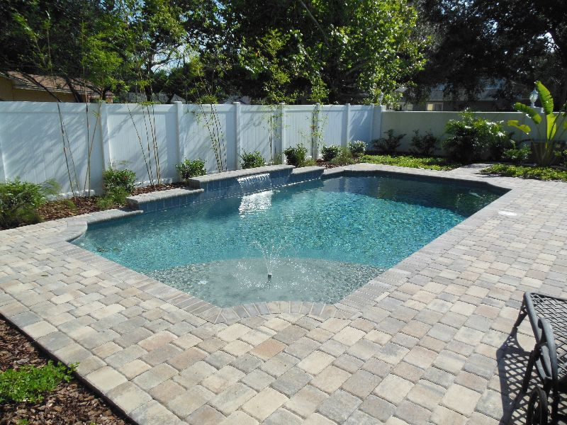 Tampa Bay Pools Can Design A Classical Geometric Custom Pool And