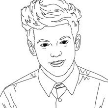 one direction coloring pages cartoon animals | LOUIS TOMLINSON Coloring page - Coloring page - FAMOUS ...