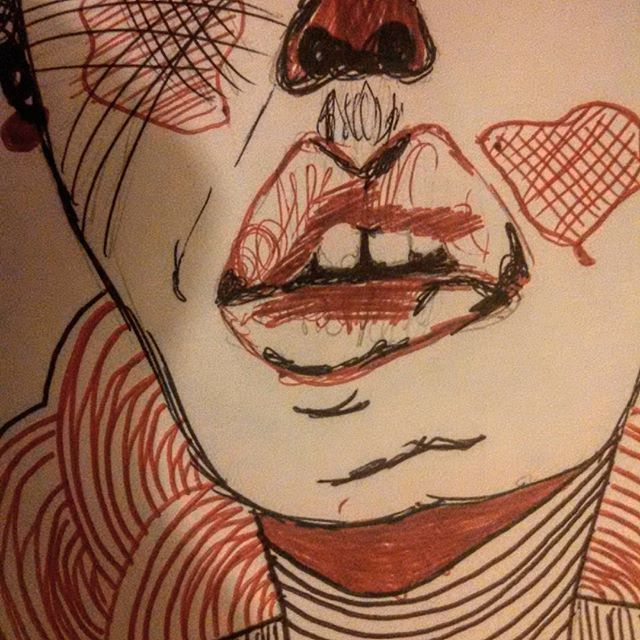 #lips #myart #draw #letsdrawsomething #womansketches #bathorystrokerart