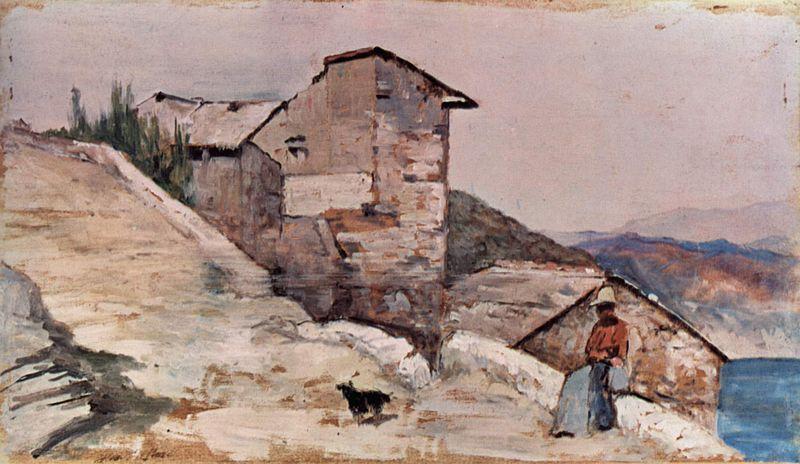 Giovanni Fattori - Fattoria sulle colline
