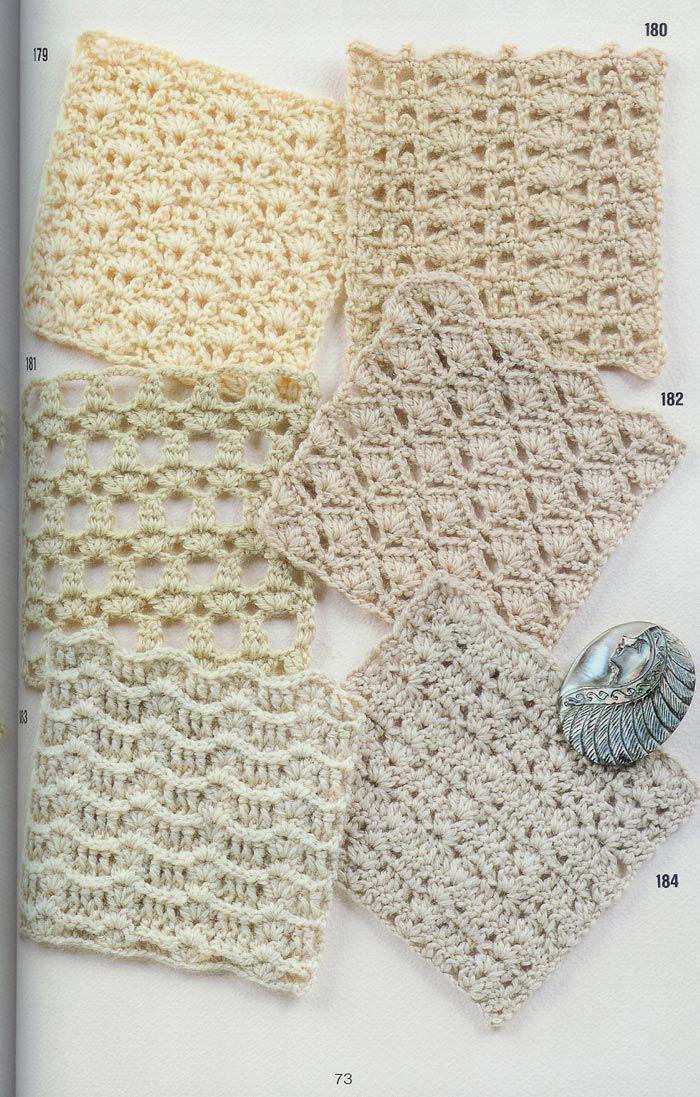 SOLO PUNTOS: CROCHET CALADOS | todo sobre crochet | Pinterest ...