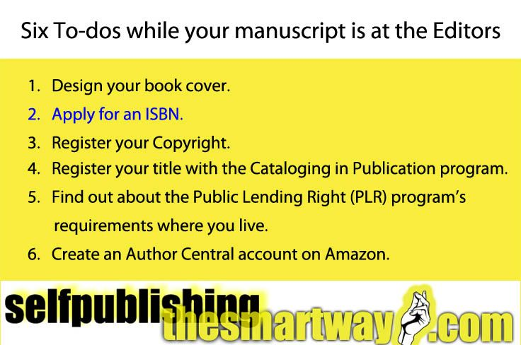 Self-publish your Book with an ISBN; the smart way. | Six To-dos ...