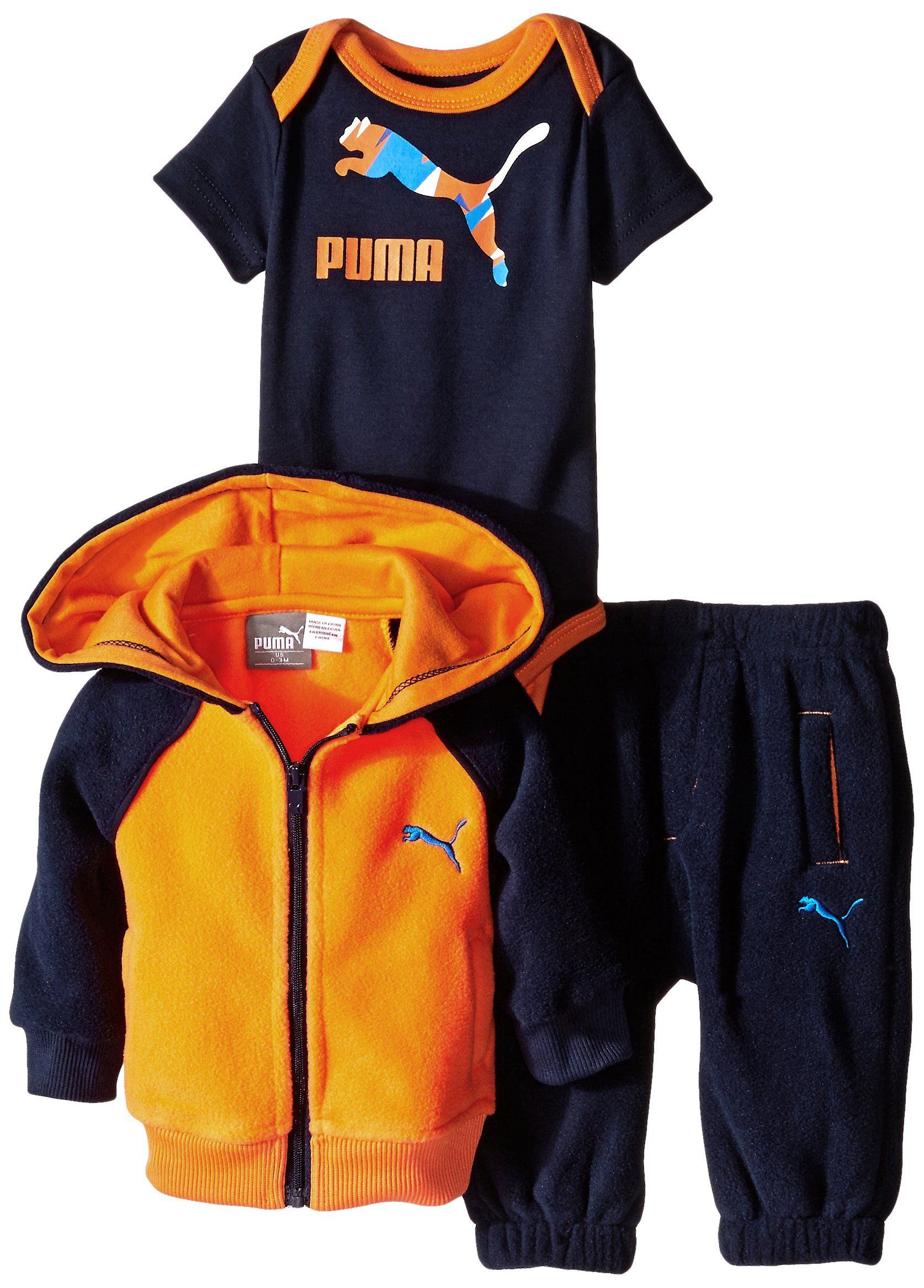 Amazon PUMA Baby Boys Printed Microfleece Set with Forever