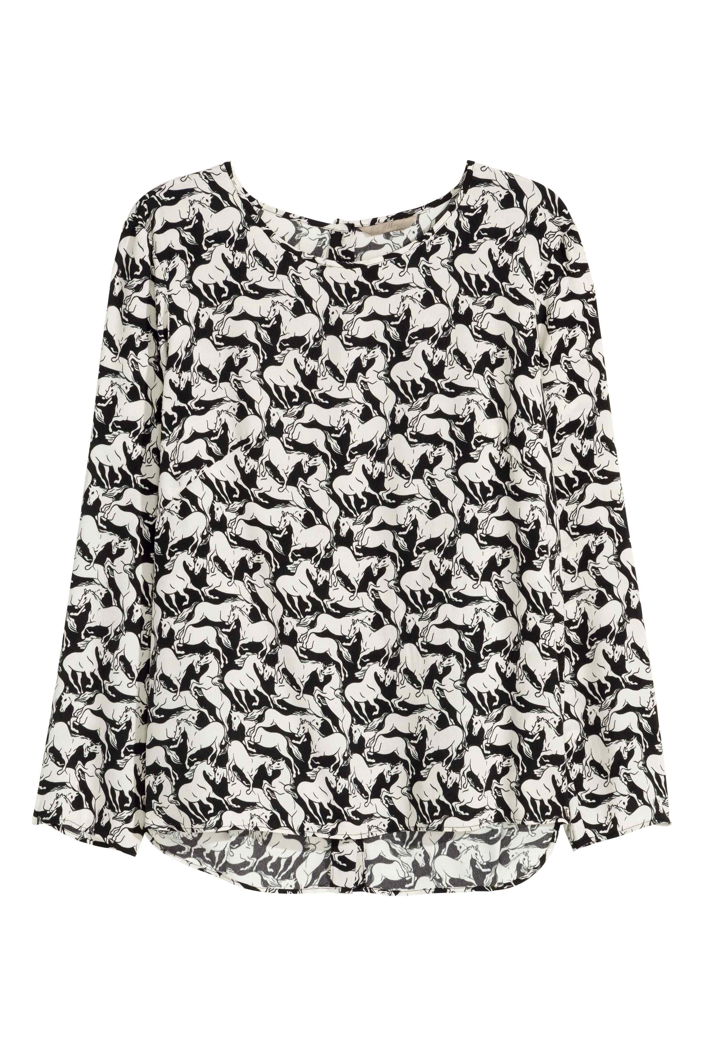 H&M+ Blusa estampada | H&M