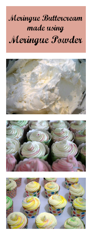 The buttercream I used on these cupcakes is a Meringue Buttercream made with Meringue Powder. The reason is that there are some customers especially the pregnant ones who like meringue buttercream but don't want to take the risk of eating raw eggs. #crustingbuttercream