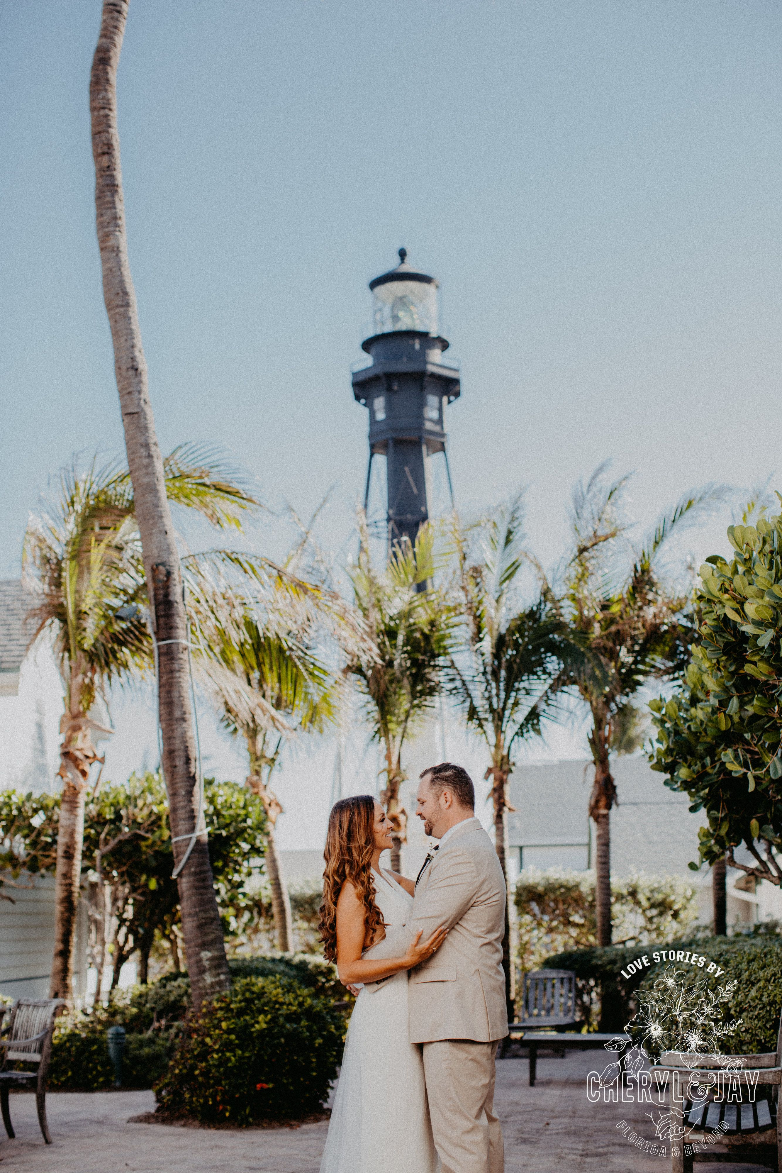 Lovely Lighthouse Wedding Decorations