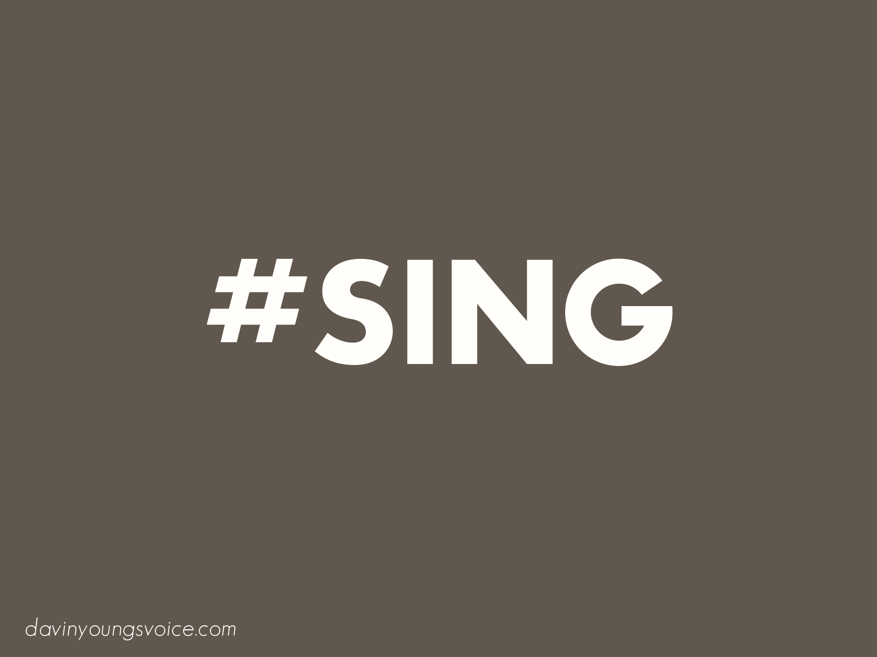 Is singing trending in your life? #SING
