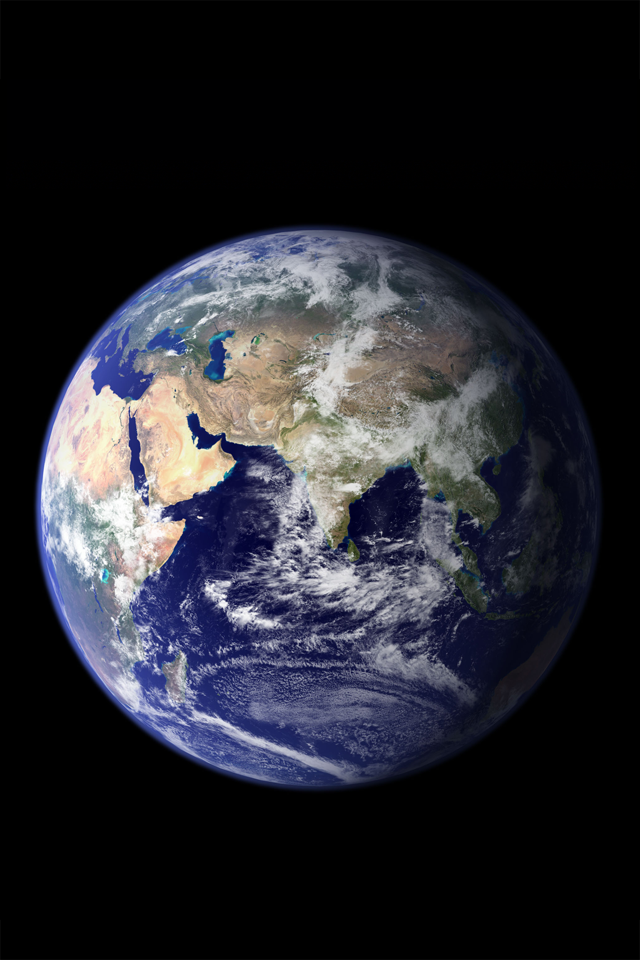 Planet Earth Iphone 4s Wallpaper Download Iphone Wallpapers Ipad Wallpapers One Stop Download Earth Globe Earth From Space Planets