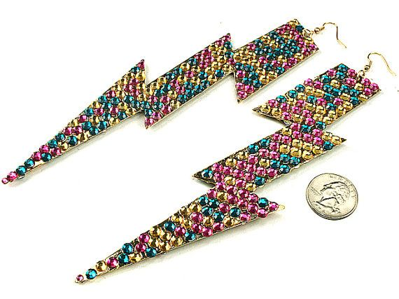 I can see Nicki Minaj wearing these... (eleganceways on Etsy)