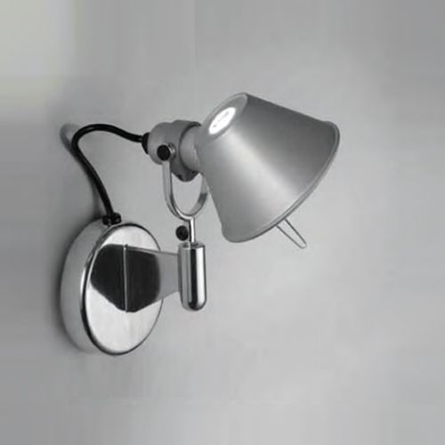 Tolomeo Micro Wall Spot Wall Lamp Artemide Closet Lighting Can This Go Upside Down Wall Sconces Contemporary Wall Sconces Wall Sconce Lighting