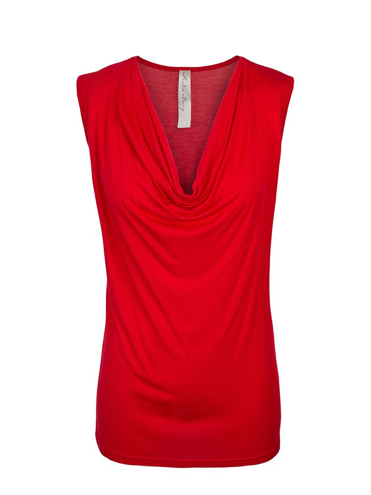 a319955b28bd4 Buy Sorrento Tops made in Australia from Katie Perry Boutique store.  Sorrento Top Women s sleeveless cowl neck tops are good for Pregnancy