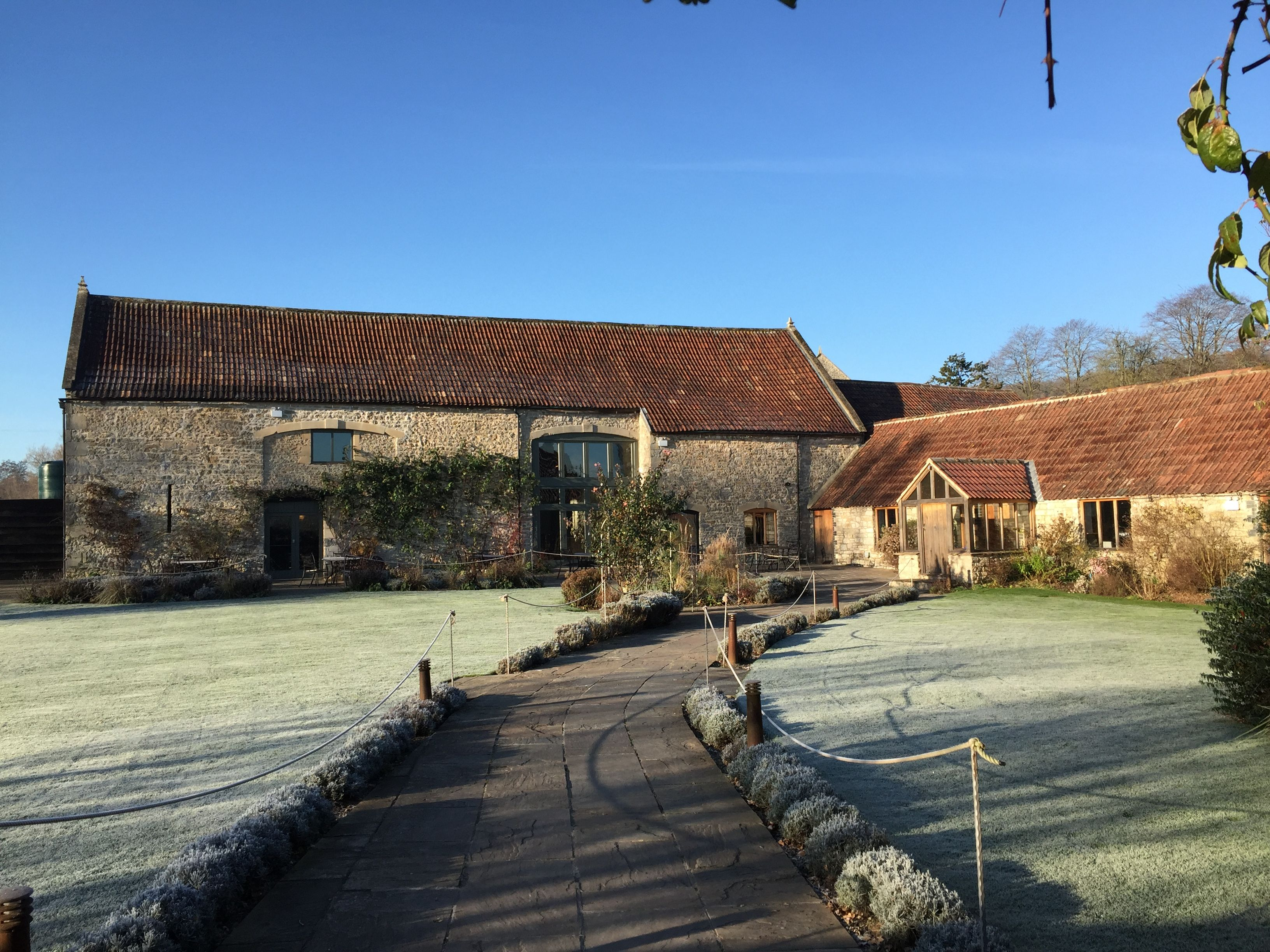 A crisp Winters morning | Barn wedding venue, Tythe barn, Barn