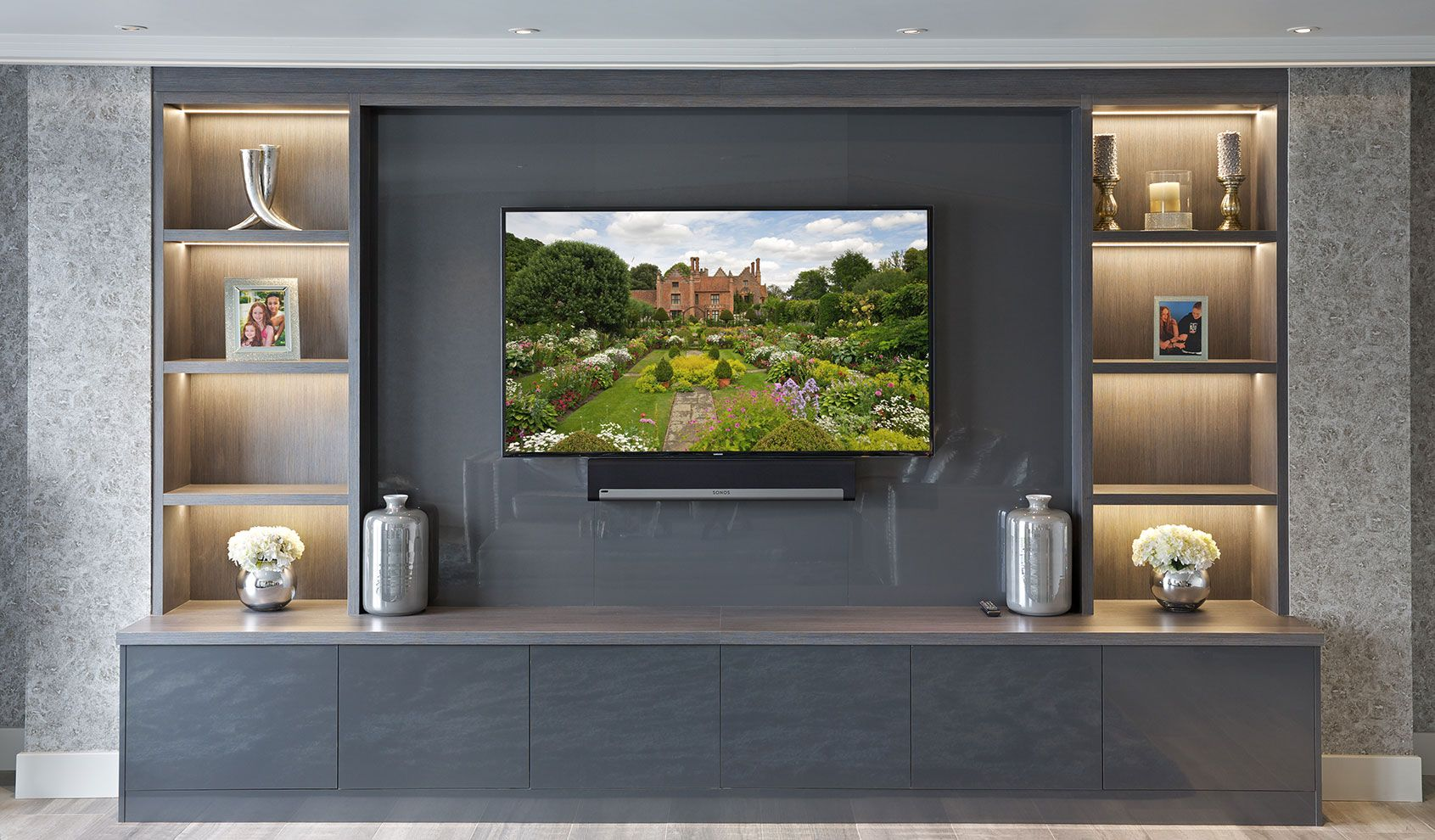 Bespoke Entertainment Rooms and TV Units - The Wood Works ...