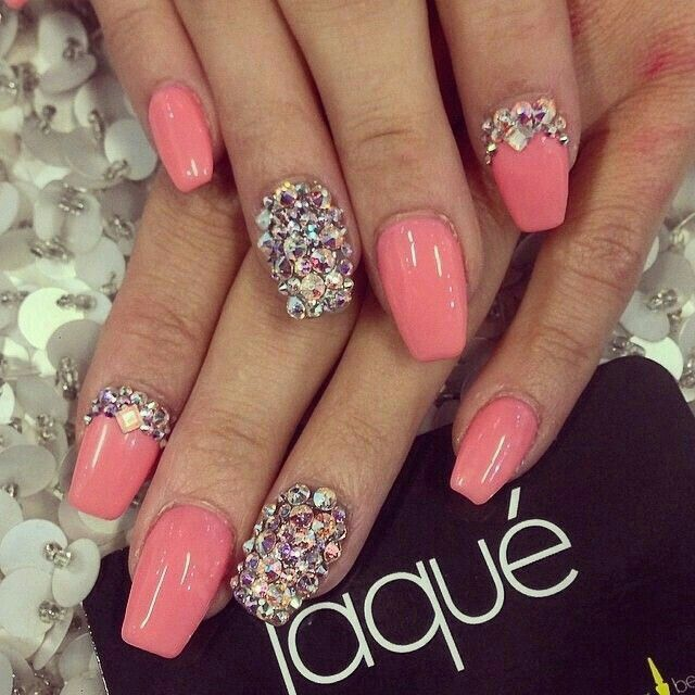 Pin by Kaitlyn Cortez on Acrylics | Pinterest | Girls nails