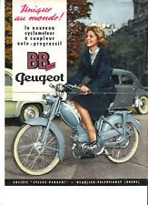 peugeot cycles bb 1 centri 1959 catalogue brochure prospekt d pliant catalog le temps des. Black Bedroom Furniture Sets. Home Design Ideas