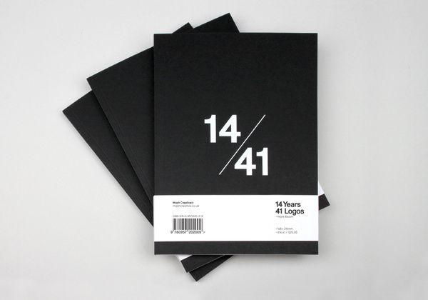 41 Logos es el primer libro de Mash Creative founder Mark Bloom. #editorial #design