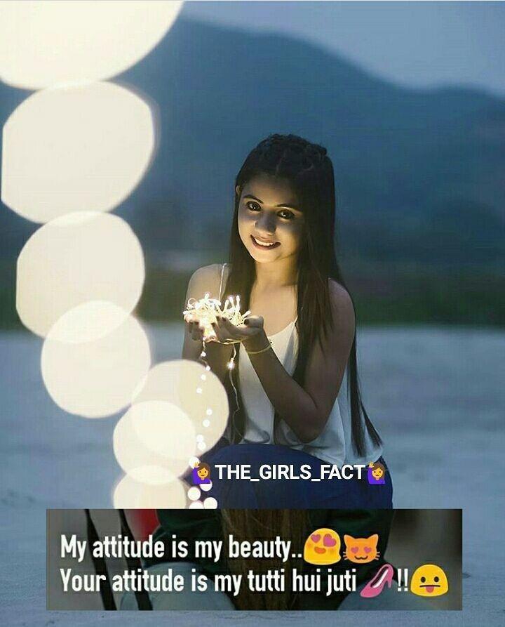 Attitude girl