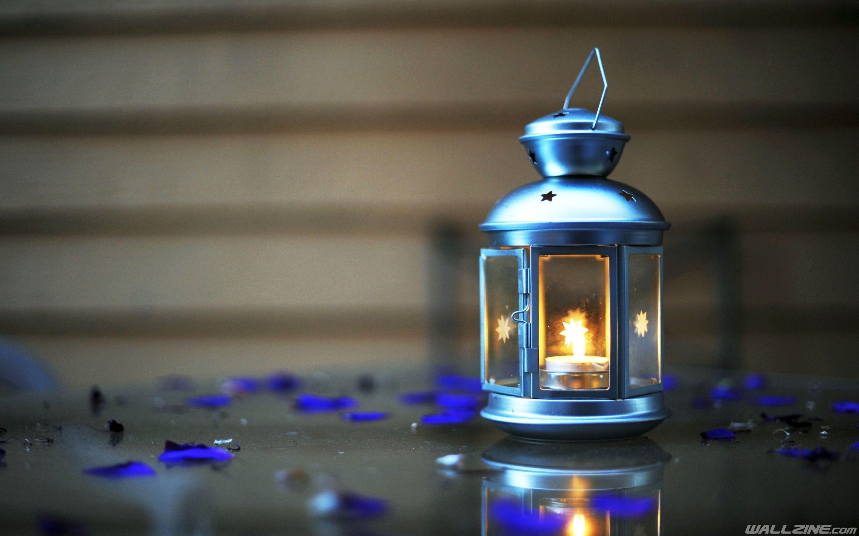 Lantern Candle Light Wallpaper