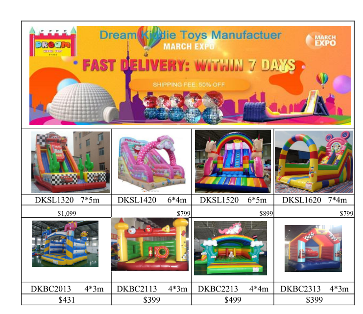 Mar Promotion For Inflatables In 2020 Inflatables Expo Inflatable