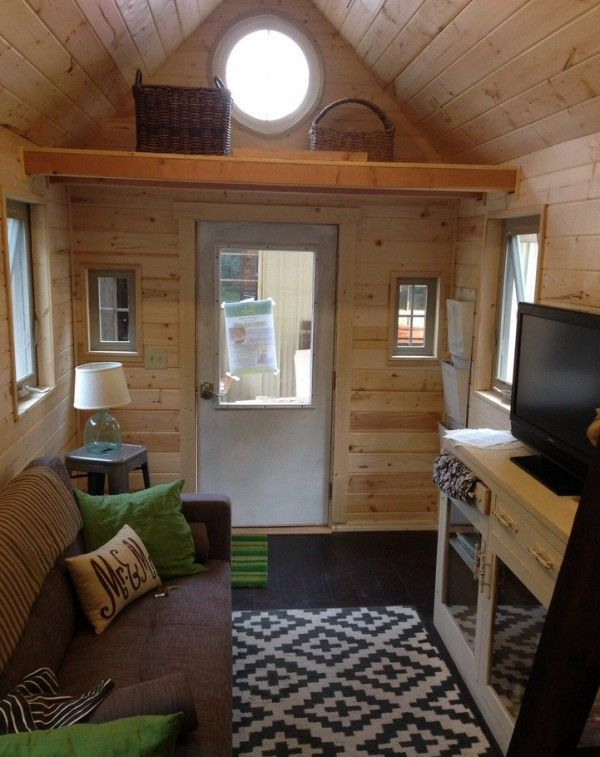 little foot tiny housetiny house swoon - Tiny House Trailer Interior