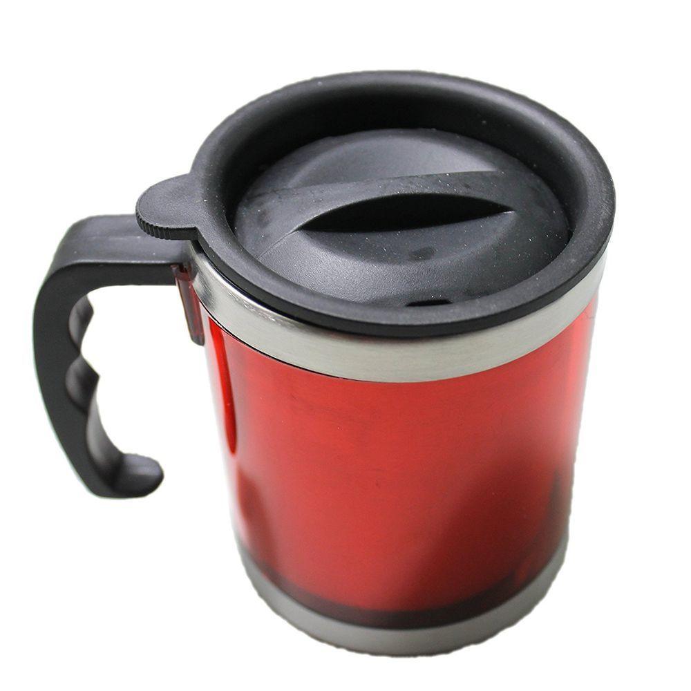Stainless Steel Travel Mug with leak proof Lid 16oz Desk Mug Coffee