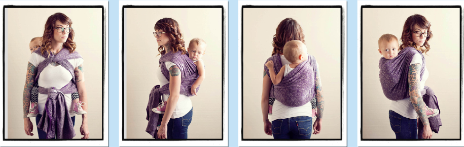 Secure High Back Carry   SHBC  from Babywearing 102  Wrapping 360 Project      mid-length wrap carry 69d363c96ca