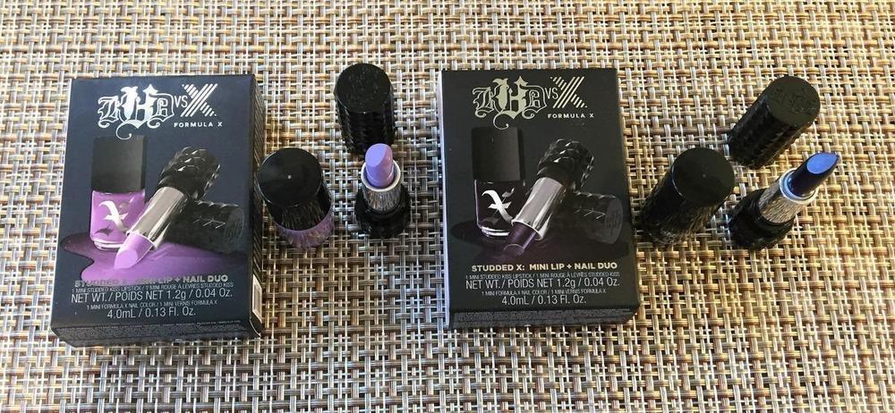Kat Von D Lipstick & Formula X Nail Polish SETS Lots x 2 - POE ...