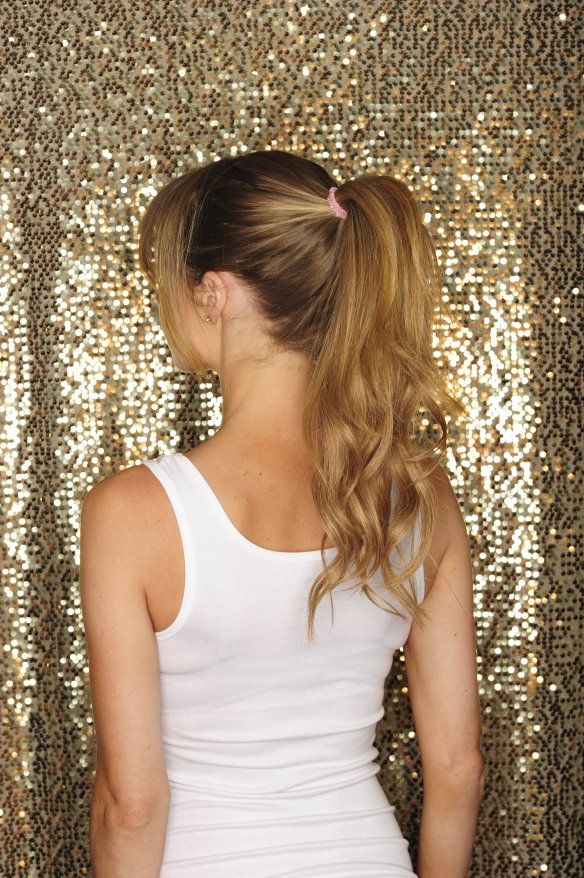 How To Make A Gorgeous Ponytail With Cashmere Hair Extensions The
