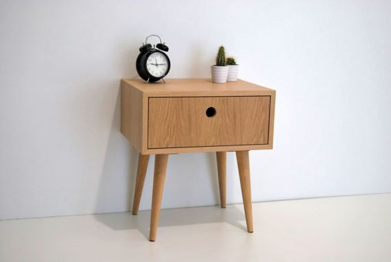 e 225 pair of bedside tables in natural oak oak dimensions width
