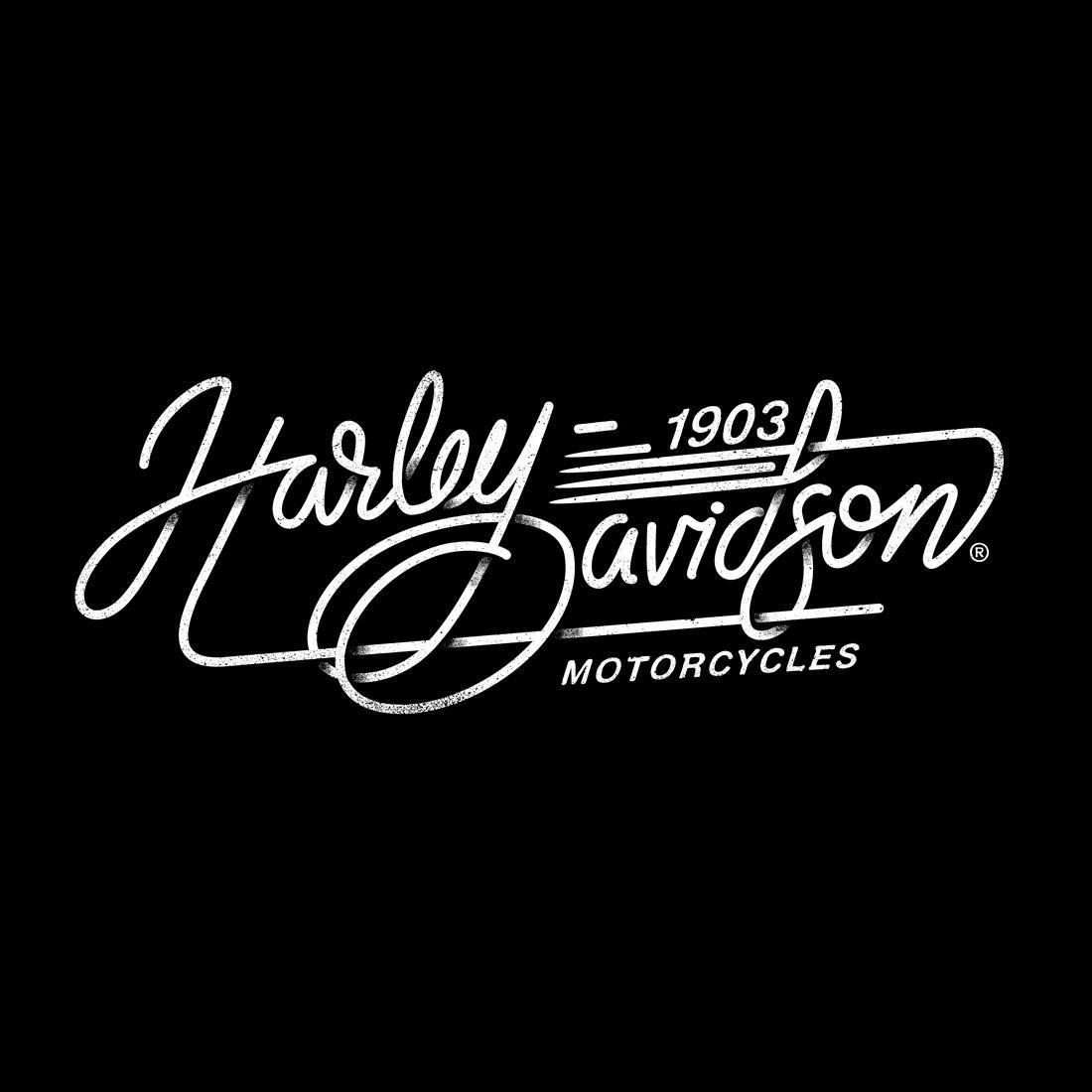 Harley Davidson Tee Iilustrationsalex Ramon Mas Studio Harley Davidson Stickers Harley Davidson Images Harley Davidson [ 1100 x 1100 Pixel ]