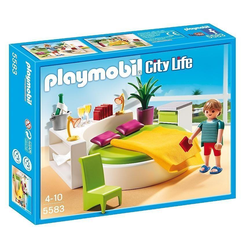 Modern Bedroom City Life Play SET BY Playmobil 5583 eBay