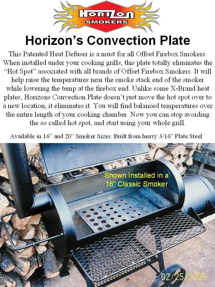 "Sliding Convection System - 16"" Smoker (Item# HCS028A ..."
