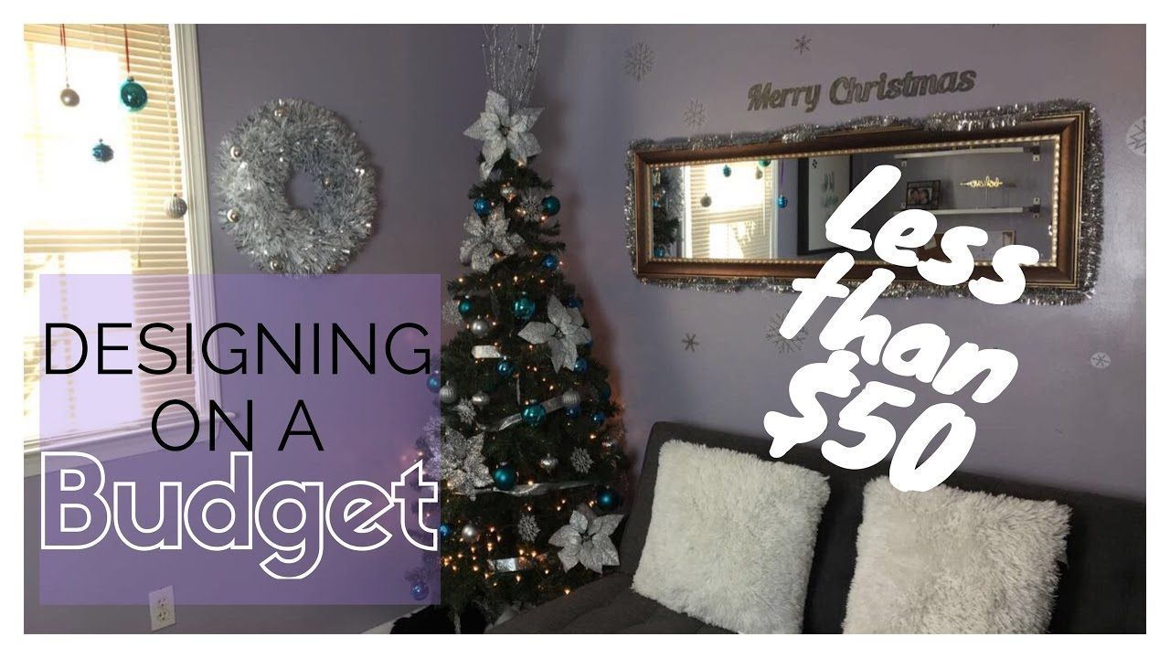 decorating for christmas on a budget vlogmas day 2 house interior design 71320056 - Decorating House For Christmas On A Budget