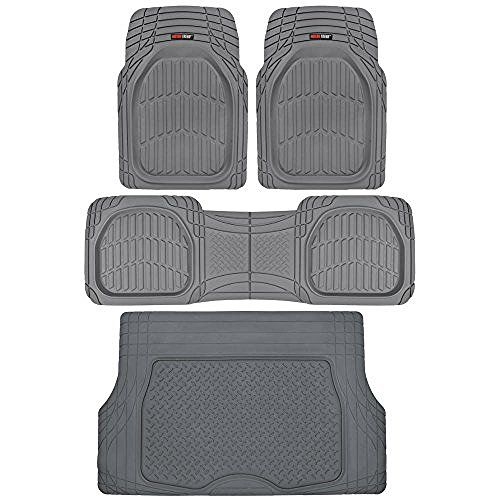 2015 2016 Kia Sedona Weathertech Floor Liners Full Set Includes 1st And 2nd Row Black 8 Passenger Seating Car Floor Mats Black Car Rubber Floor Mats