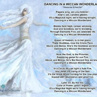 dancing in a wiccan wonderland pagan song lyrics witchy. Black Bedroom Furniture Sets. Home Design Ideas
