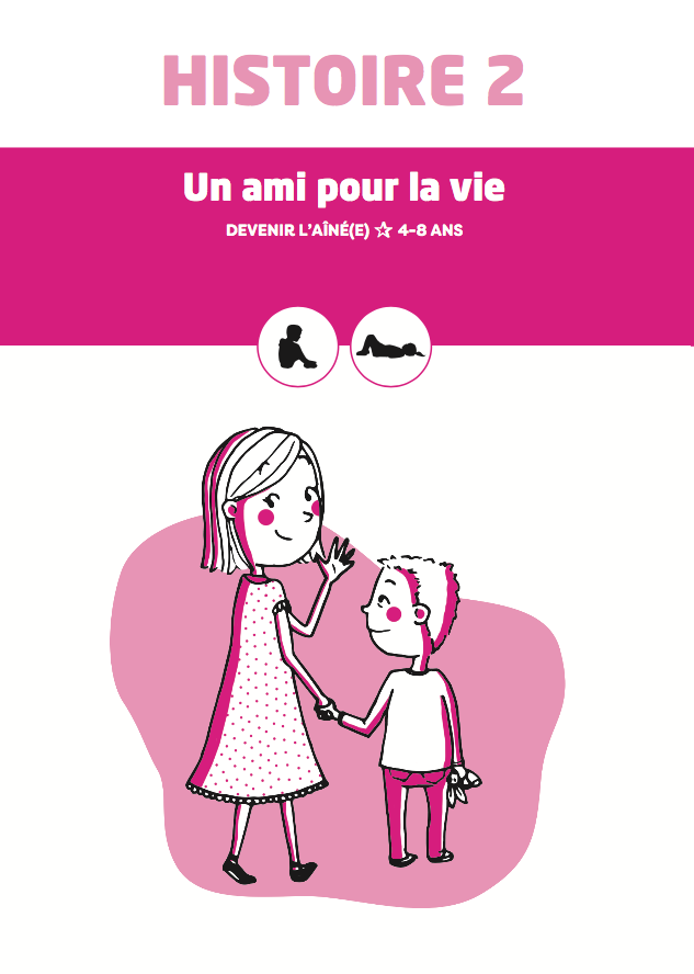 Une histoire gratuite pour accompagner les enfants à l'arrivée d'un frère ou d'une soeur