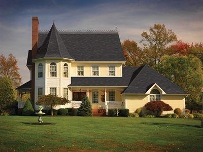 Gaf Slateline Shingle Photo Gallery Roof Styles Roof Design Shingling