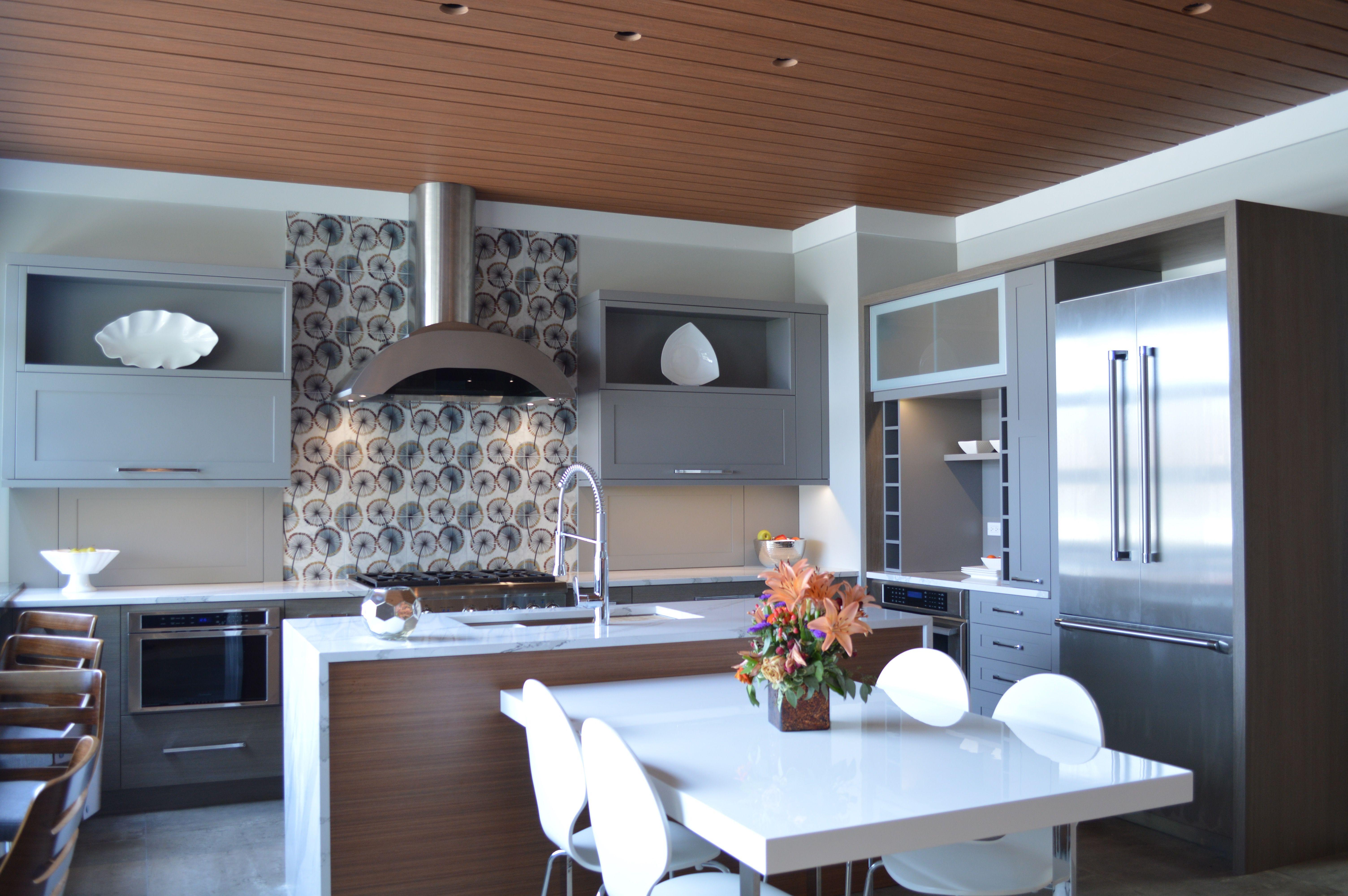 Kitchen Remodel Tile Floors White Kitchen Cabinets Gray Kitchen Cabinets Quartz Countertops Open Design Your Kitchen Kitchen Remodel Grey Kitchen Cabinets